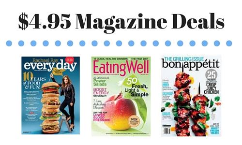 $4.95 Magazine Deals