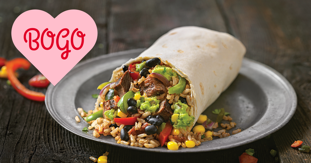 Qdoba Mexican Grill Is Celebrating Valentineu0027s Day With BOGO Entree. Simply  Display A Kiss Of Any Kind With A Loved One, On A Friendu0027s Cheek, ...