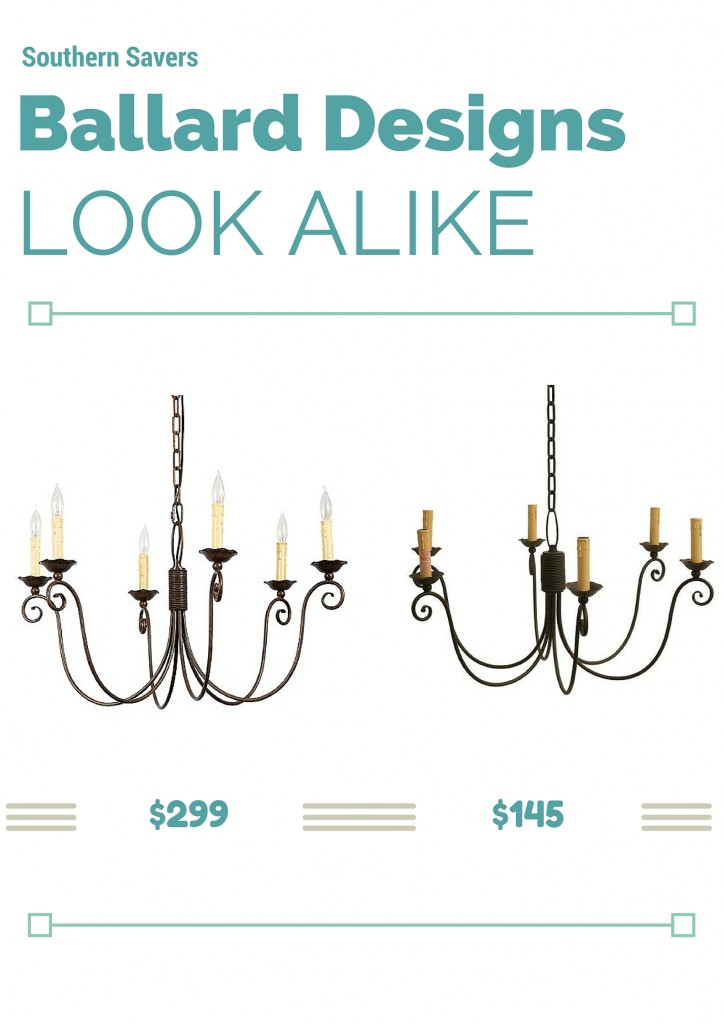 ballard designs cossette chandelier look alike southern dining decor on pinterest parade of homes dining room
