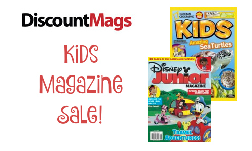 DiscountMags: Kids Magazine Deals