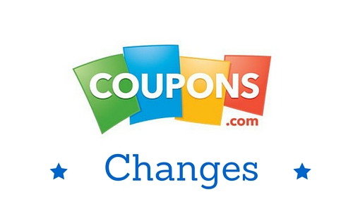 coupons.com changes
