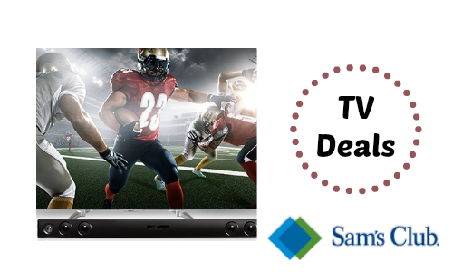Gameday TV Deals at Sam's Club