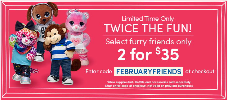 build-a-bear coupon code