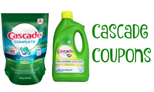 picture relating to Cascade Coupons Printable named Cascade Coupon Detergent for $2 :: Southern Savers