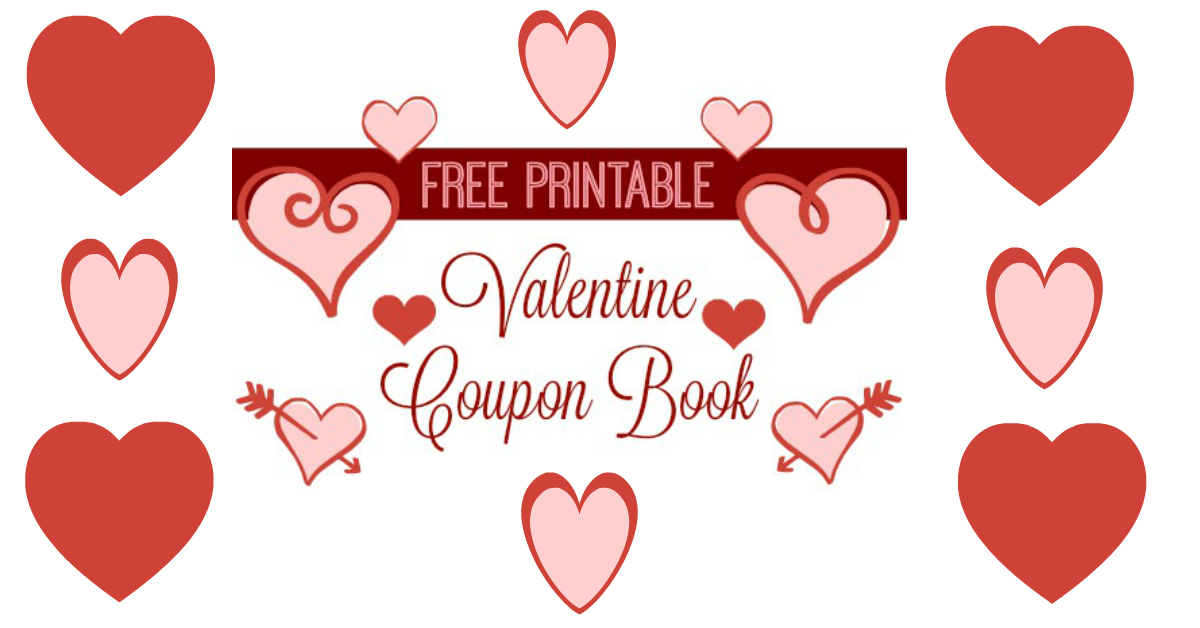 Free Printables | Valentine Coupon Books :: Southern Savers
