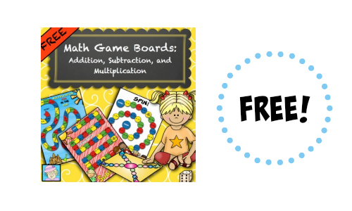 Educents math game board