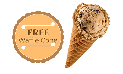 free Bruster's Ice Cream