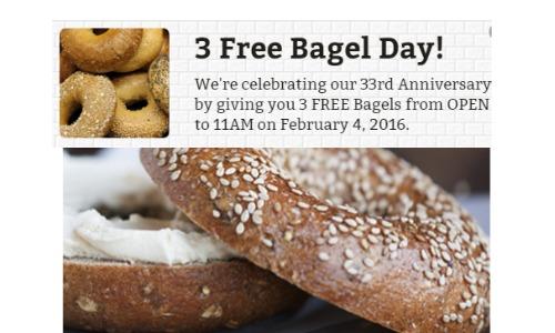 free bagels