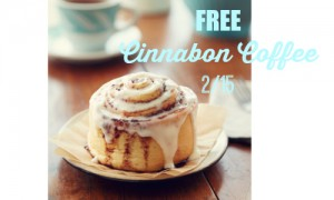 free cinnabon coffee