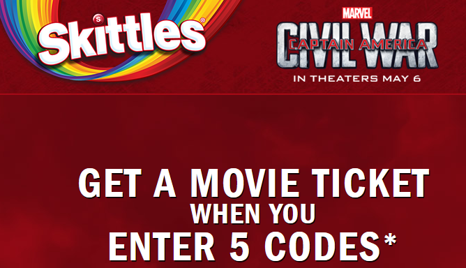 skittles get a free fandango movie ticket southern savers