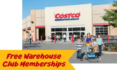 free warehouse club Memberships