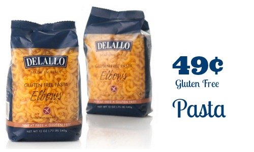 gluten free pasta delallo coupon