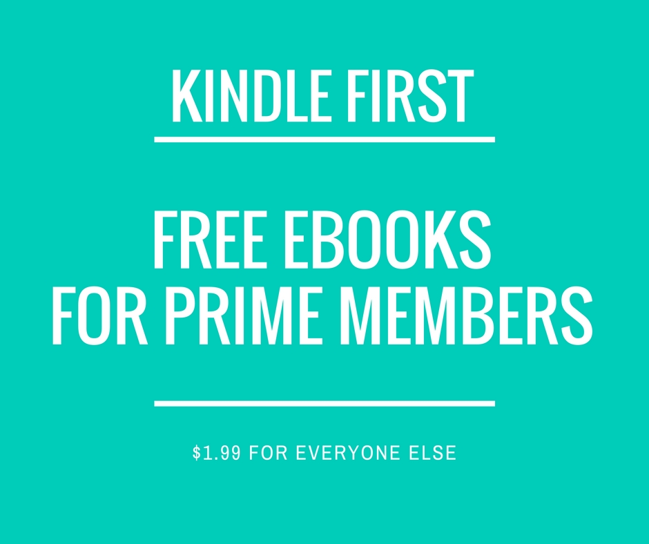 kindle first books