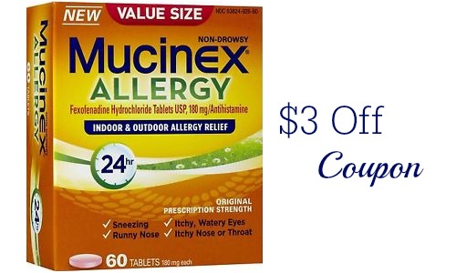 mucinex allergy