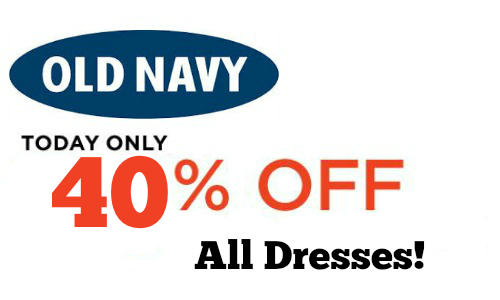 40% Off All Old Navy Dresses