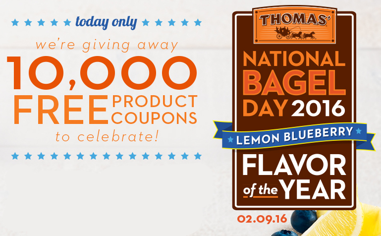 Thomas English Muffins & Bagels Sweepstakes