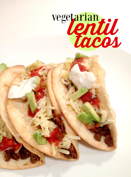 Frugal Recipe: Vegetarian Lentil Tacos