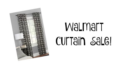 Walmart: Curtain Panel Sale