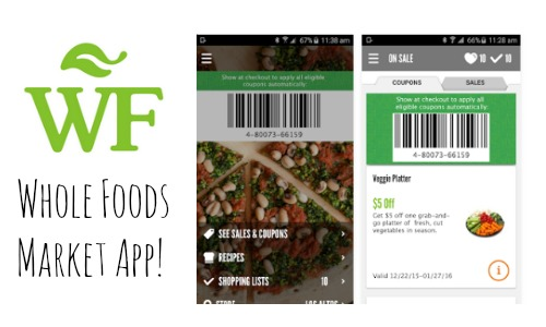 whole foods app