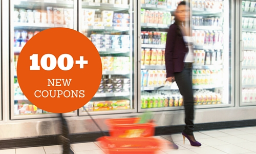 100+ new printable coupons