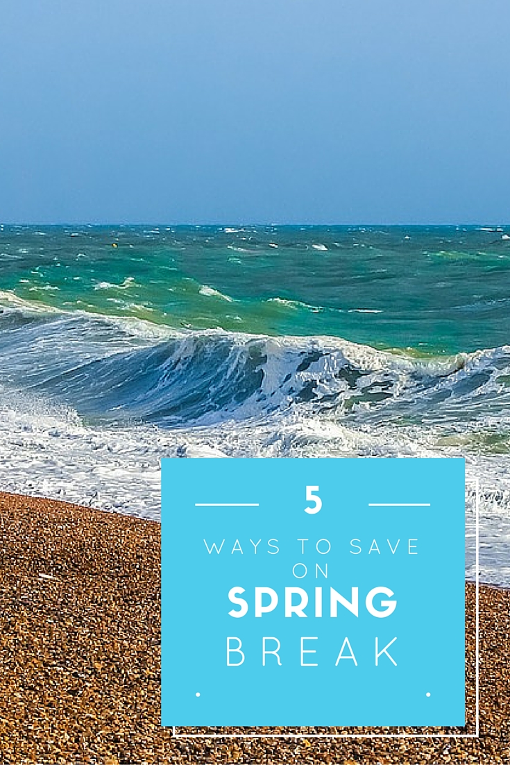 Here are my top ways to save on spring break. Happy vacationing!