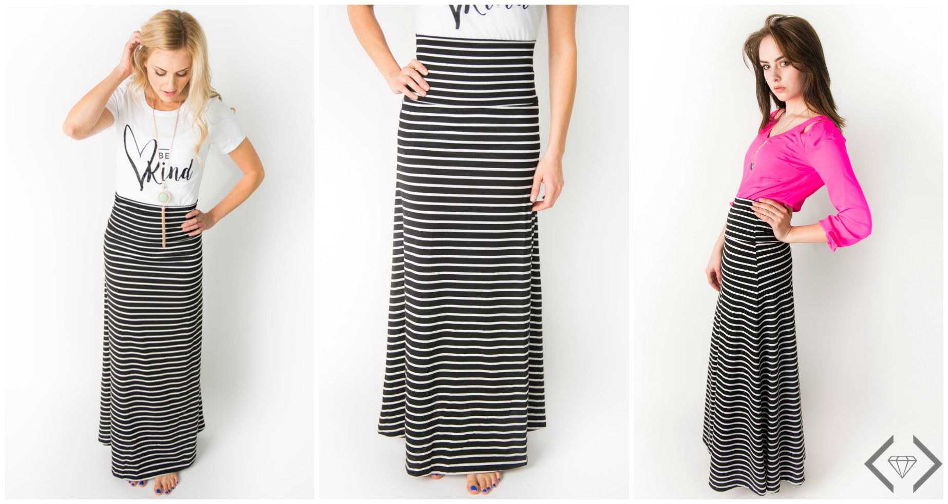 Cents of Style: Striped Maxi Skirt, $12.95