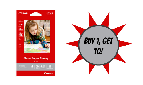Canon: Glossy Photo Paper Deal