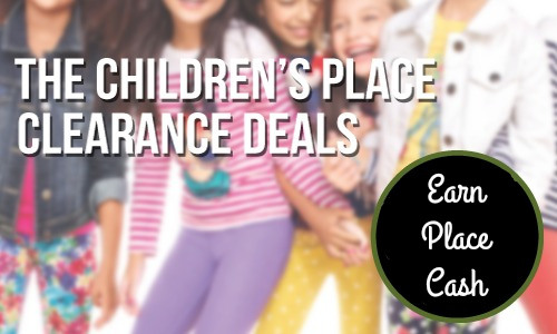 Children's Place Clearance Sale + Place Cash