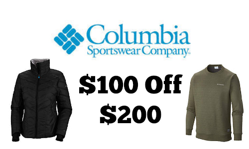 Columbia sportswear company outlet coupons