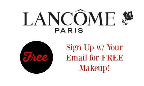Free Makeup from Lancome