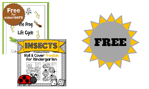Free Printables for Children