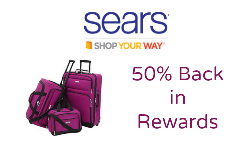 Sears: 50% Back in Rewards