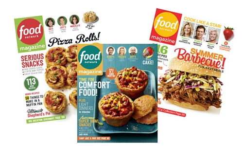 food network magazine subscription deal