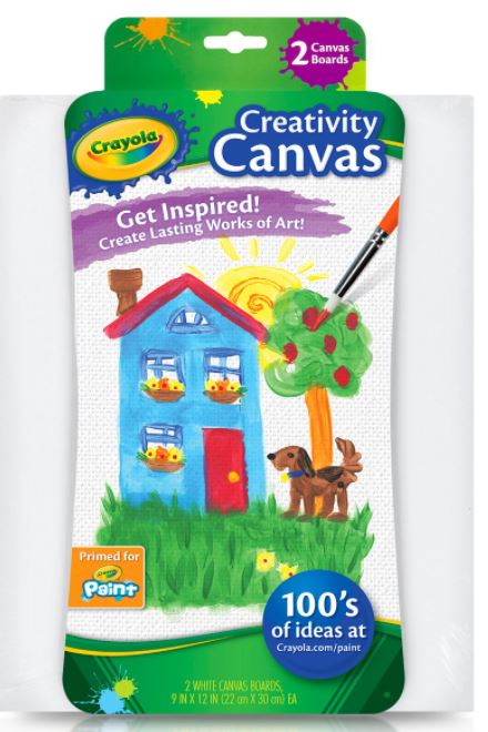 crayola canvas two pack