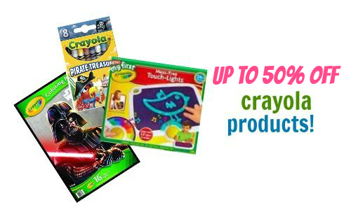 Up to 50% Off Crayola at Zulily
