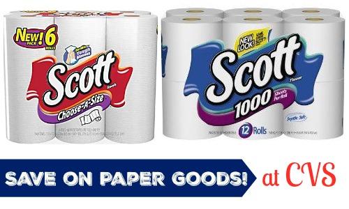 cvs paper goods