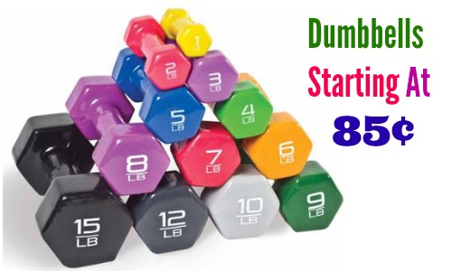 cap barbell dumbbells