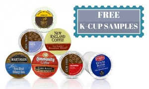 free k-cup samples