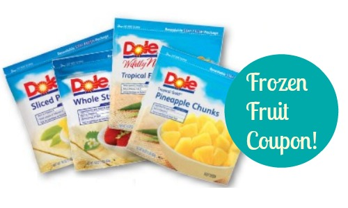frozen fruit dole coupon
