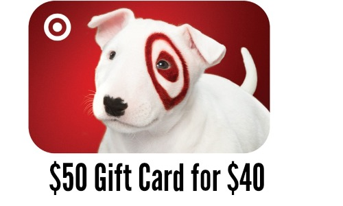 Groupon Deal: $50 Target Gift Card For $40 :: Southern Savers
