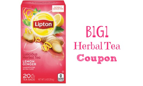 herbal tea lipton coupon