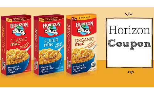 Harris Teeter Coupon: Horizon Macaroni & Cheese
