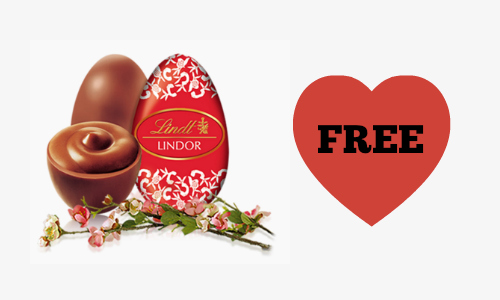 Kroger Friday Freebie: Lindt Lindor Milk Chocolate Egg