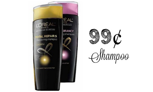 l'oreal advanced shampoo deal