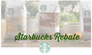 starbucks rebate