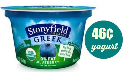 stonyfield yogurt deal