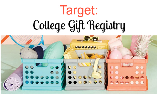 College Gift Registry at Target