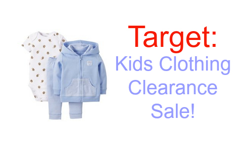 Target: Extra 10% off Kids Clearance Items