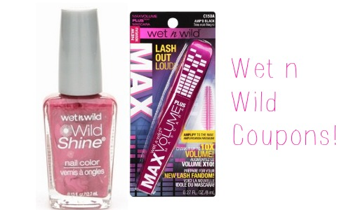 Wet and wild makeup coupons