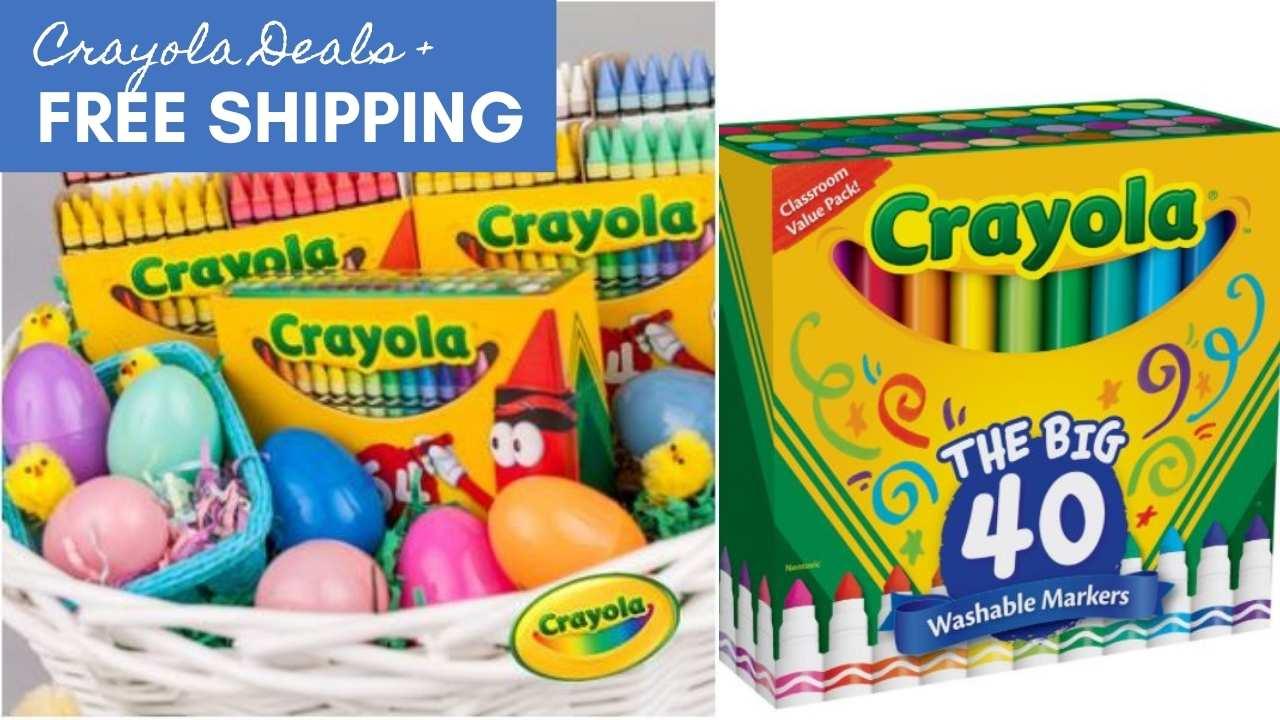 zulily crayola